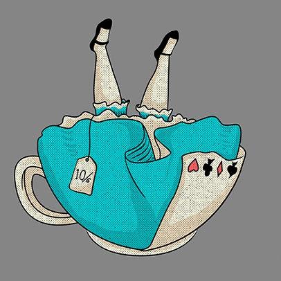 Alice no mundo invertido