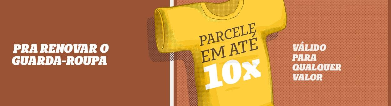 Parcelamento em 10x