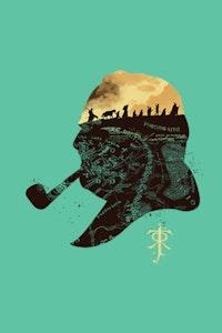 Estampa da Camiseta Tolkien