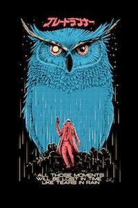 Estampa da Camiseta Blade Runner