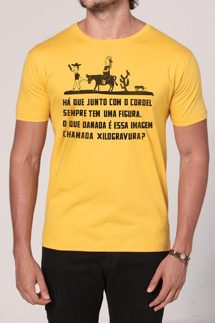 Camiseta Cordel do Repente - Chico Rei - Chico Rei f101c135f90