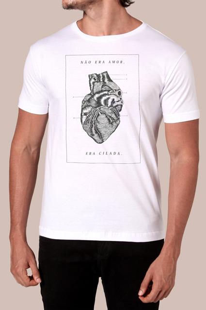9c2d0328c23da Camiseta Cilada - Chico Rei