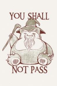 Design You Shall Not Pass