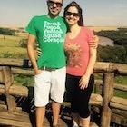 Meliane Cavalini veste Camiseta Lampião e Maria Bonita