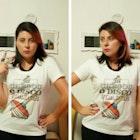 Nathália Benedetto veste Camiseta Disco Voador