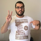 Roberto victor Souza Gomes veste Camiseta Jaiminho