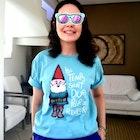 Flavia Monteiro veste Camiseta Amélie Poulain