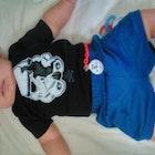 Micaelle Freitas veste Baby Body Stormtrooper