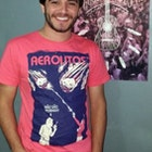 Diego Deicke Caetano veste Camiseta Aerolitos