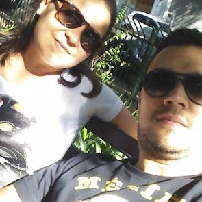 Hugo com a camiseta Camiseta Darth Vader