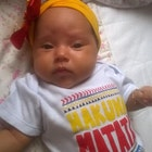 Ana Claudia Leone veste Baby Body Hakuna Matata