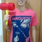 Douglas Nishiyama veste Camiseta Aerolitos