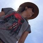 Natalia Guerra Rabelo Martins veste Camiseta Capitão Jack