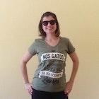 Caroline Guerreiro veste Camiseta História dos Gatos