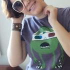 Ádilla Lima veste Camiseta 3D Vision