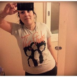 Lencia com a camiseta Camiseta The Strokes