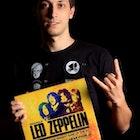 Lucas Carnicelli veste Camiseta Cinepedia