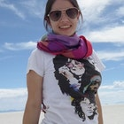 francielly cristina cordeiro veste Camiseta Colors of Rock