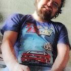 Ingrid Mendes veste Camiseta Top Gear