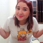Claudiane  Lucio Dias de Oliveira veste Camiseta Que Mario?
