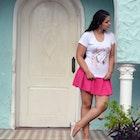 Lia Araújo veste Camiseta Flora
