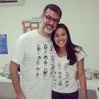 Indira Lima veste Camiseta O Estranho Mundo de Tim
