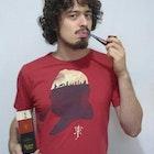 Saulo Sbaraini Agostini veste Camiseta Tolkien