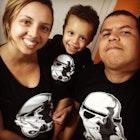 Diesio Ferreira veste Baby Body Stormtrooper