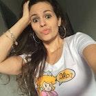 Camila Oliveira Gomes veste Camiseta Que Mario?