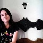 Isadora Louback Sousa Alvarenga veste Camiseta Caverna do Dragão