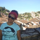 Luana Diniz veste Camiseta Woody Allen