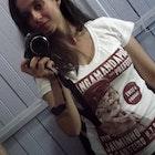 Camila  Dalla Costa da Silva veste Camiseta Jaiminho