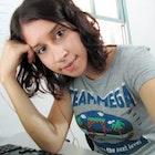 Érica Portella veste Camiseta Mega Team
