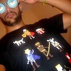 Raphael Souza veste Camiseta Caverna do Dragão