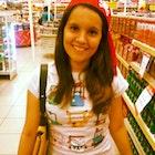 Livia Barreto veste Camiseta Pocket Family