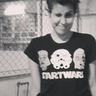 ana carolina  fonseca veste Camiseta Start Wars