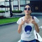 Bruna Aidar veste Camiseta Purple Haze