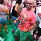 levi cintra veste Camiseta Lampião e Maria Bonita