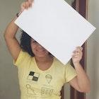 Greyce Sousa Guerra veste Camiseta Aula de Desenho