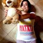 Nathália Rocha veste Camiseta Hakuna Matata
