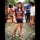 Ana Carolina Figueiredo Silva veste Camiseta How You Doin'